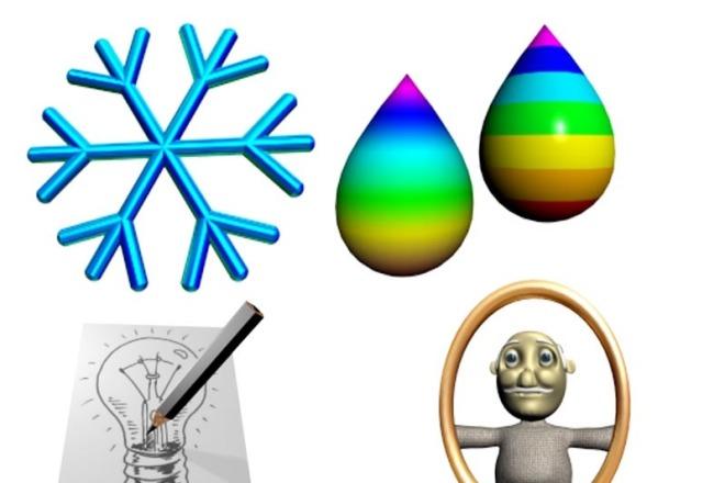 Создам объёмные иконки 2 - kwork.ru