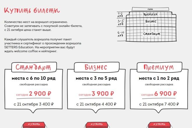 Внесу правки на лендинге.html, css, js 46 - kwork.ru