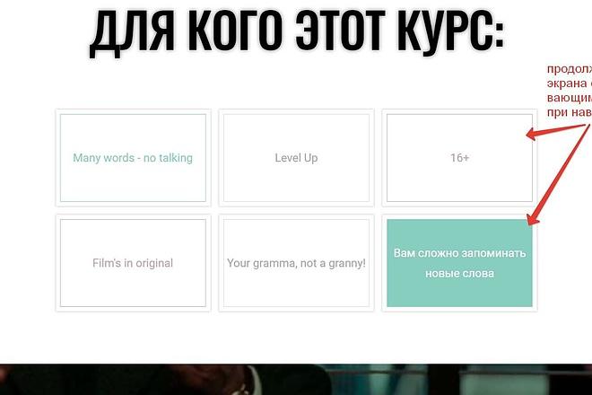 Лендинг для любых целей на Wordpress 27 - kwork.ru