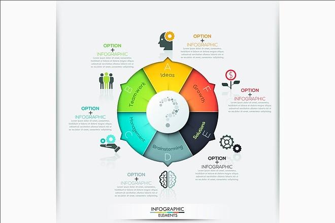 Золотой набор инфографики для дизайнера 1 - kwork.ru