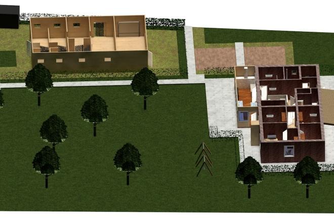 Создам планировку дома, квартиры с мебелью 37 - kwork.ru