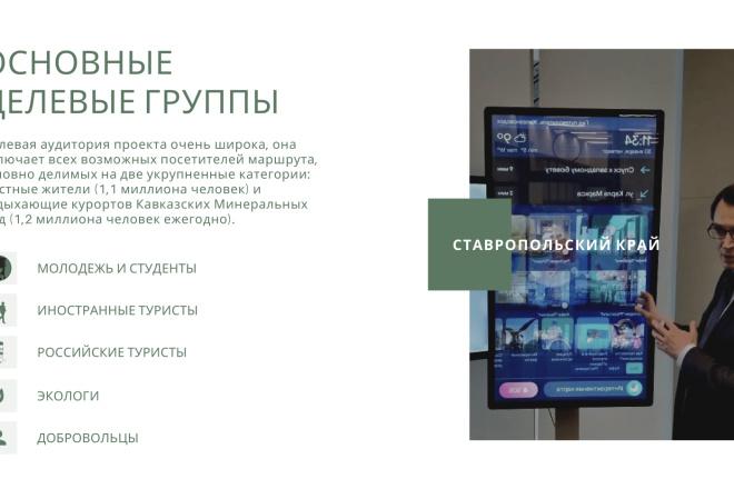 Стильный дизайн презентации 31 - kwork.ru