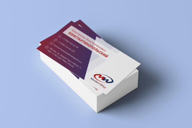 Дизайн визиток 7 - kwork.ru