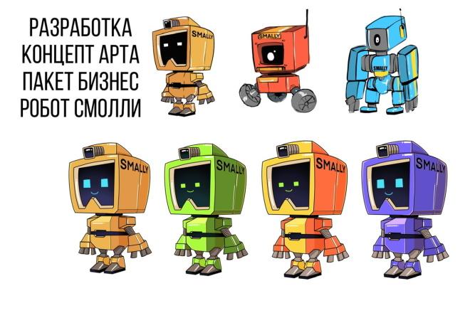 Нарисую CG персонажа 3 - kwork.ru
