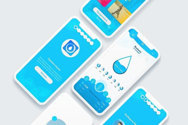 UI-UX Дизайн мобильного приложения под iOS или Android 5 - kwork.ru
