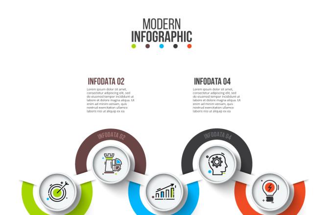 Набор инфографики. 13 тематик, 800 шаблонов, 2 пакета иконок 5 - kwork.ru