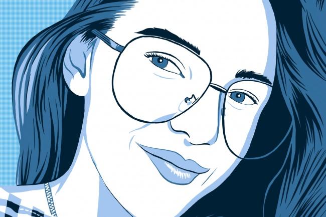 Нарисую поп-арт портрет по фото 4 - kwork.ru