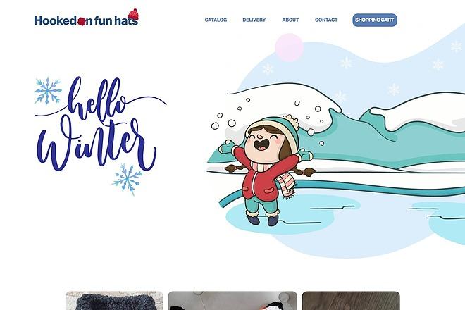 Качественный дизайн интернет-магазина 6 - kwork.ru