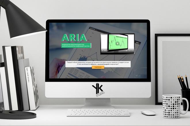 Лендинг под ключ, крутой и стильный дизайн 2 - kwork.ru