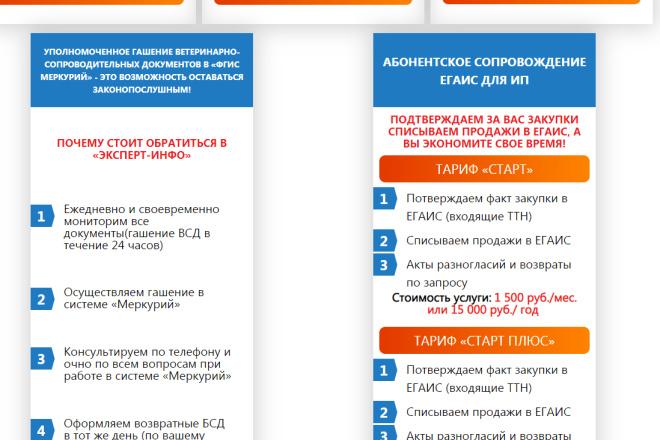 Внесу правки на лендинге.html, css, js 9 - kwork.ru