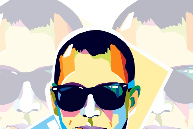 Напишу портрет в стиле поп-арт 1 - kwork.ru