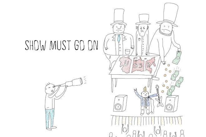 Быстро нарисую веселые иллюстрации 2 - kwork.ru