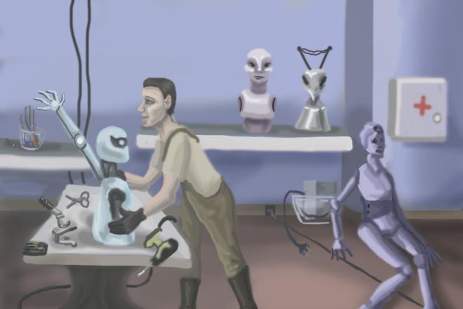 Нарисую иллюстрацию 16 - kwork.ru
