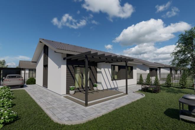 Фотореалистичная 3D визуализация экстерьера Вашего дома 102 - kwork.ru