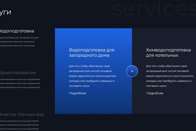 Сверстаю сайт по любому макету 124 - kwork.ru