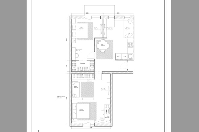 Планировочное решение вашего дома, квартиры, или офиса 8 - kwork.ru