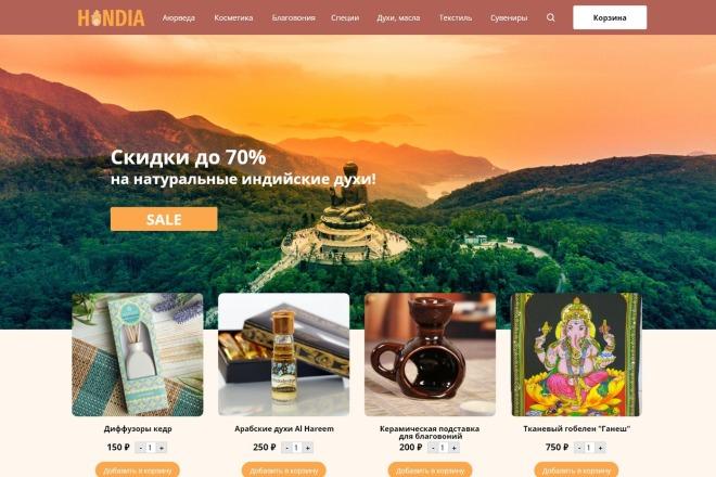 Качественный дизайн интернет-магазина 13 - kwork.ru