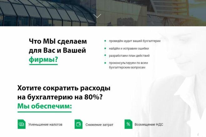 Скопировать Landing page, одностраничный сайт, посадочную страницу 37 - kwork.ru