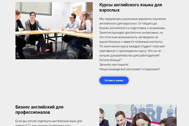 Создание сайта - Landing Page на Тильде 64 - kwork.ru