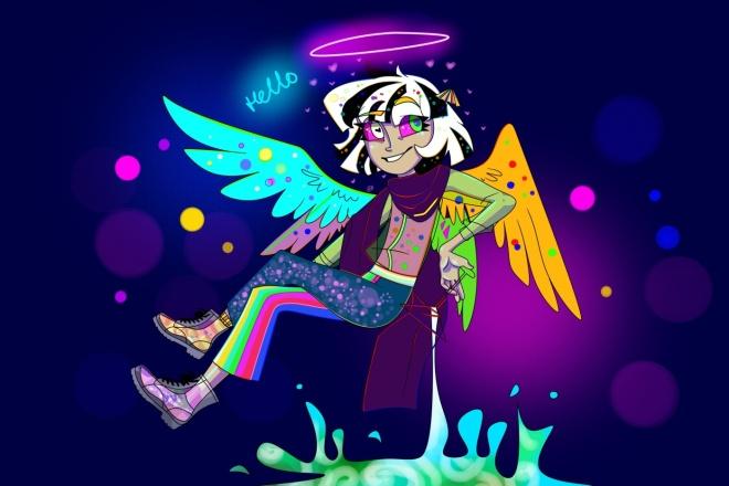 Нарисую персонажа в авторском стиле, иллюстрацию 2 - kwork.ru