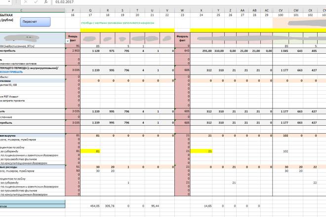 Excel формулы, сводные таблицы, макросы 13 - kwork.ru