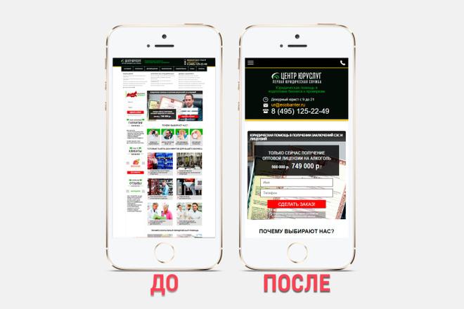 Адаптация сайта под все разрешения экранов и мобильные устройства 12 - kwork.ru