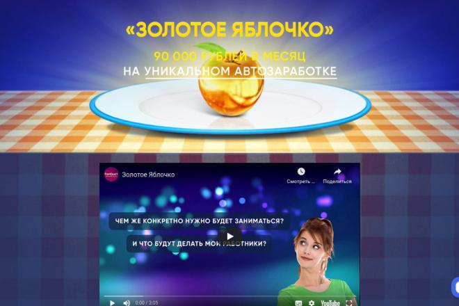 Скопирую страницу любой landing page с установкой панели управления 65 - kwork.ru