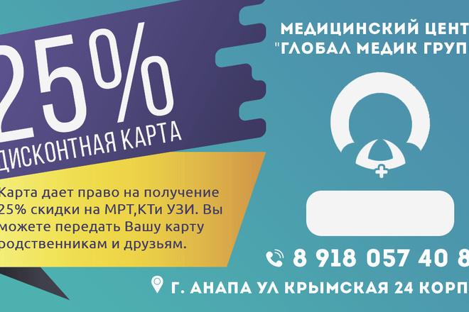 Баннер для печати в любом размере 13 - kwork.ru