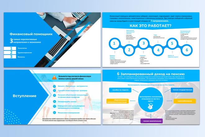 Сделаю презентацию в MS PowerPoint 7 - kwork.ru