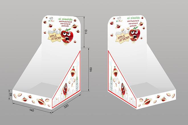 Дизайн упаковки или этикетки 33 - kwork.ru