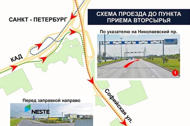 Отрисовка и оформление карт, схем 1 - kwork.ru