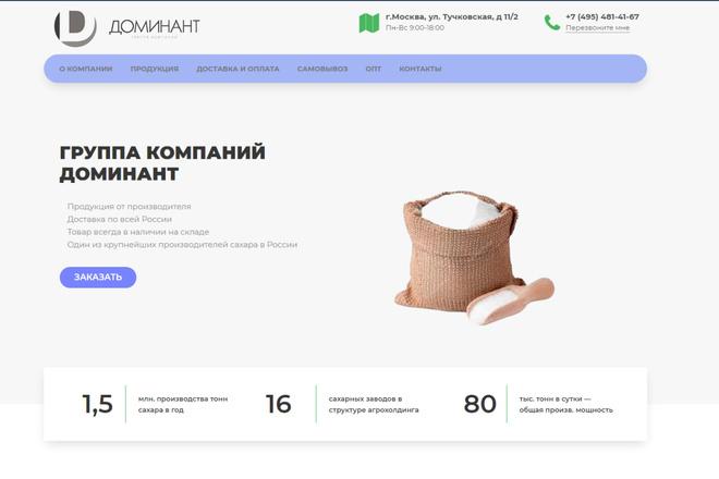 Скопирую почти любой сайт, landing page под ключ с админ панелью 26 - kwork.ru