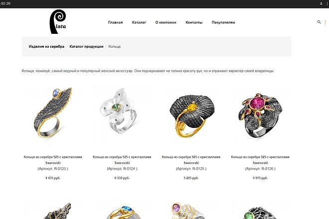 Разработка сайта на Bitrix 5 - kwork.ru