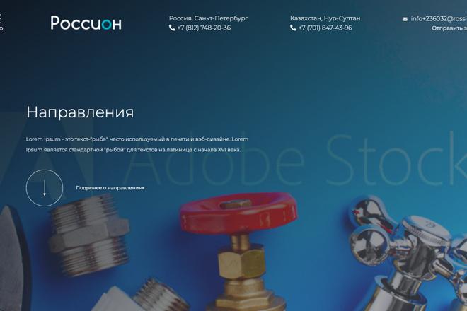 Сверстаю сайт по любому макету 54 - kwork.ru