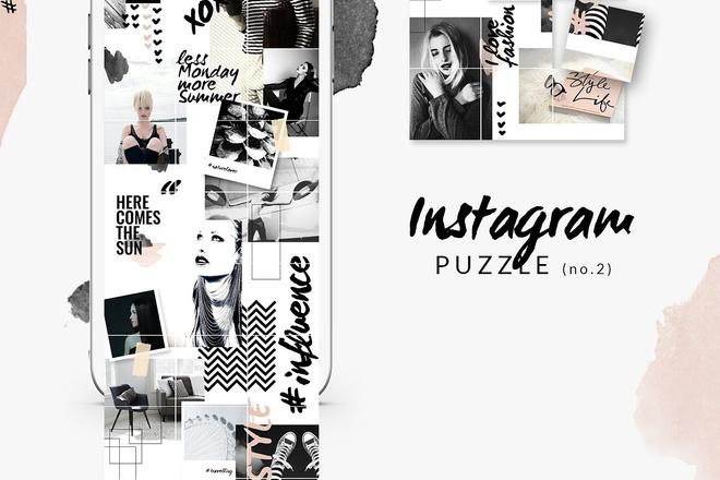 25000 шаблонов для Instagram, Вконтакте и Facebook + жирный Бонус 21 - kwork.ru