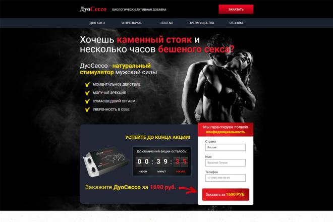Продающий сайт - Лендинг под ключ, для любых целей 17 - kwork.ru