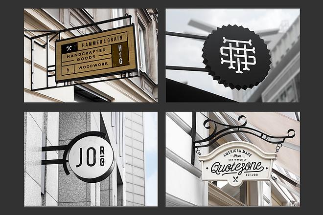 Дизайн рекламной вывески для магазина, кафе, бургерной, салона красоты 2 - kwork.ru