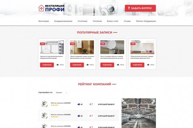 Верстка страниц по макетам psd, sketch, figma 23 - kwork.ru