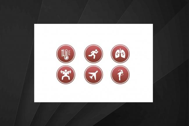 Нарисую 8 иконок 56 - kwork.ru