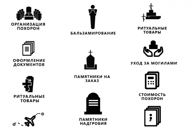 Нарисую 8 иконок 93 - kwork.ru