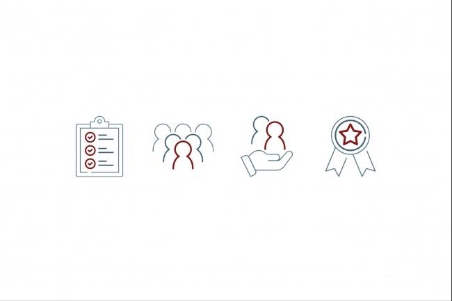 Нарисую 8 иконок 40 - kwork.ru