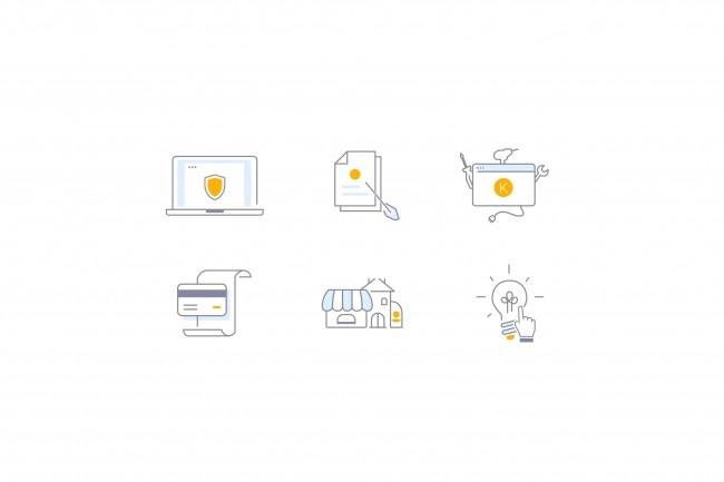 Нарисую 8 иконок 21 - kwork.ru