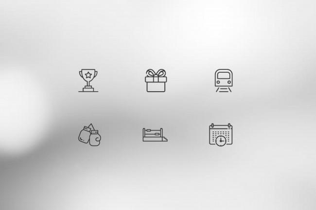 Нарисую 8 иконок 30 - kwork.ru