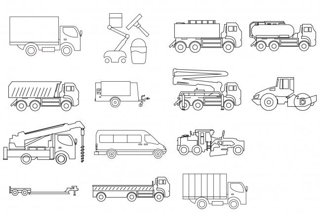 Нарисую 8 иконок 87 - kwork.ru