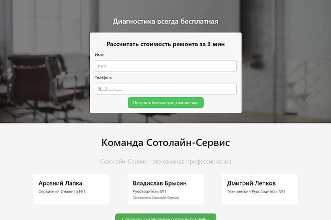 Копирование Landing Page 15 - kwork.ru