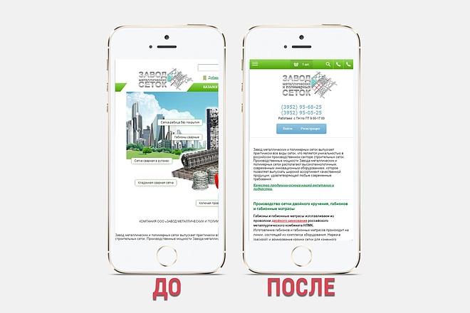 Адаптация сайта под все разрешения экранов и мобильные устройства 45 - kwork.ru