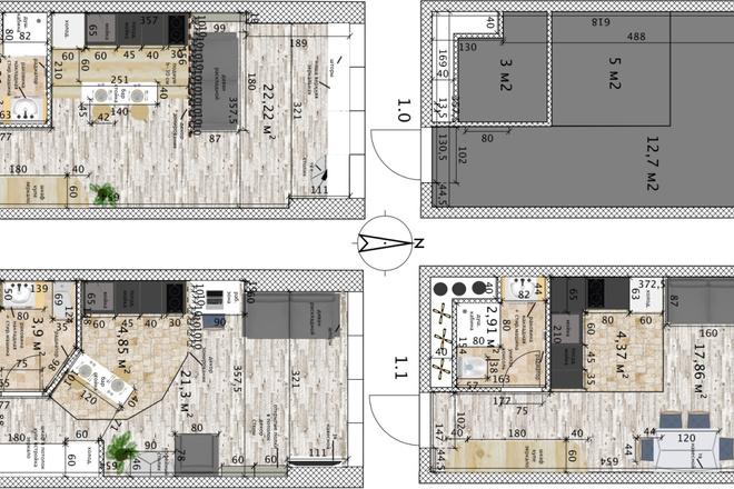Интересные планировки квартир 17 - kwork.ru