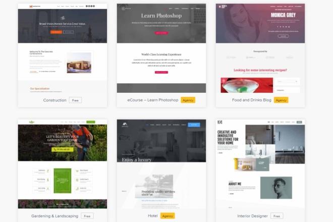 ПАК 1000 шаблонов и дополнений для WordPress 13 - kwork.ru