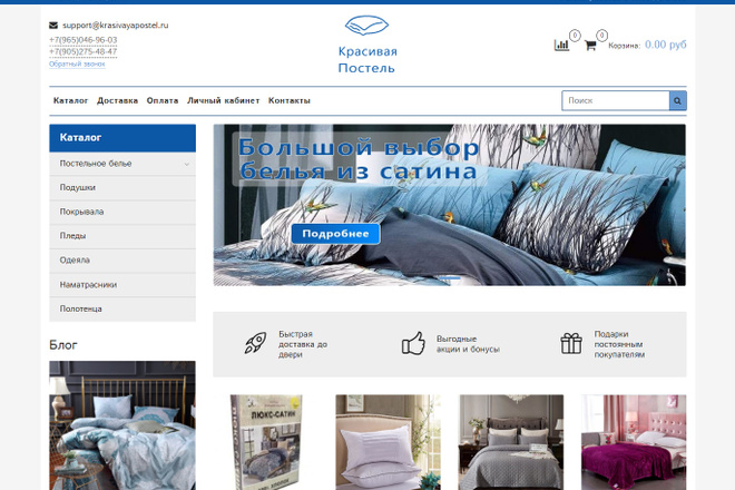 Профессионально создам интернет-магазин на insales + 20 дней бесплатно 50 - kwork.ru