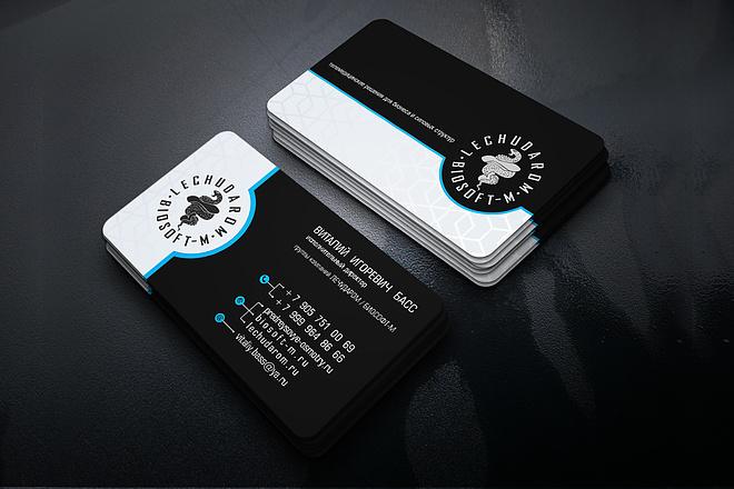 Сделаю дизайн визитки 34 - kwork.ru